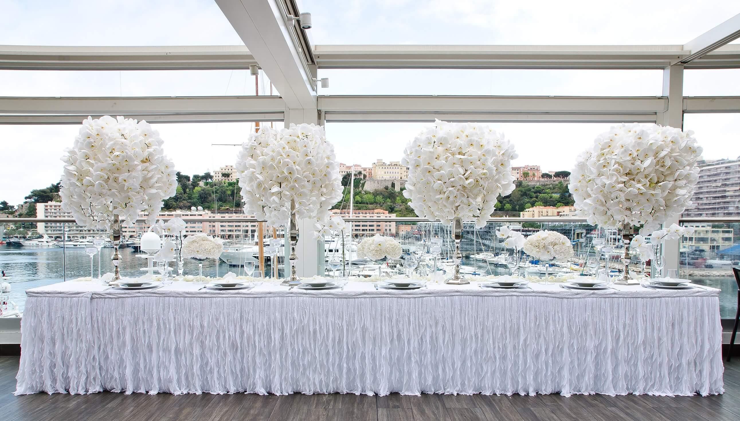 Décoration de Mariage / Monaco Wedding Decoration / Monaco